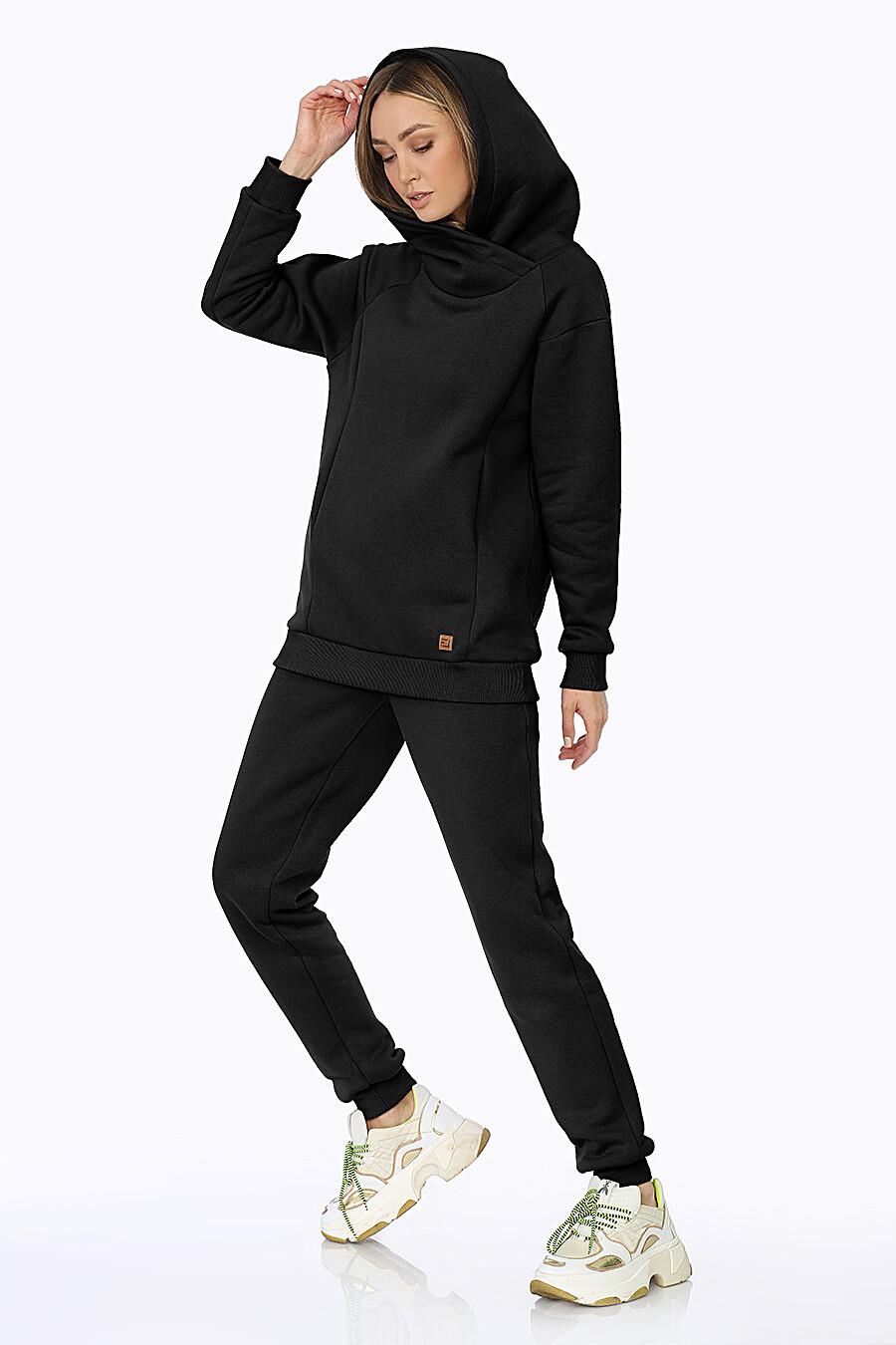 Худи для женщин EZANNA 708522 купить оптом от производителя. Совместная покупка женской одежды в OptMoyo