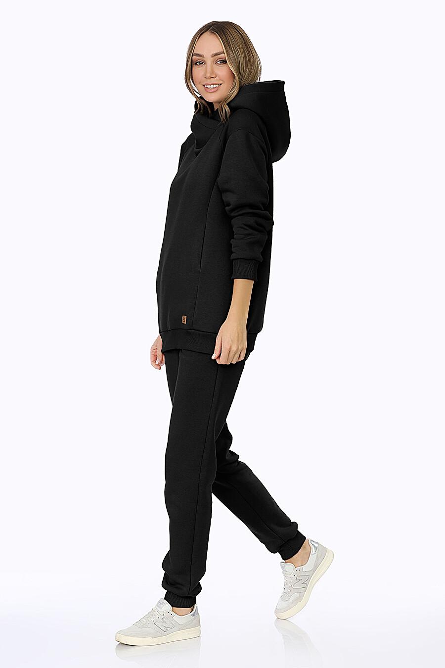 Костюм (Брюки+Худи) для женщин EZANNA 708529 купить оптом от производителя. Совместная покупка женской одежды в OptMoyo