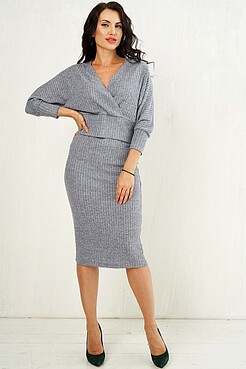 Костюм (блуза+юбка) LADY TAIGA