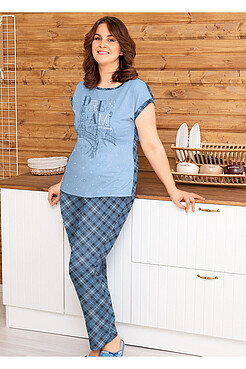 Комплект (брюки+футболка) CLEVER