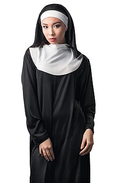Костюм монахини КРАСНАЯ ЖАРА