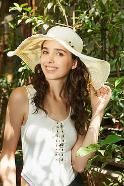 Плетеная шляпа Под жарким солнцем Фиджи с мягкими полями Nothing But Love