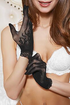 Перчатки Изящная роза LE CABARET