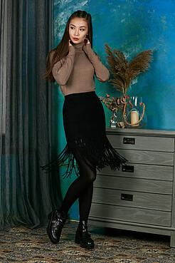 Вязаная юбка Уютная жизнь в Лондоне MERSADA