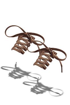 "Шнурки ""Паркер"", 120 см Nothing Shop"