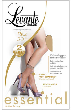 LEVANTE носки RITZ 20 (2 пары) (12/72) LEVANTE