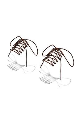 """Шнурки для обуви """"Горная сказка"""", 180 см КРАСНАЯ ЖАРА"""