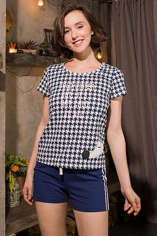 Пижама (Шорты+Футболка) INDEFINI