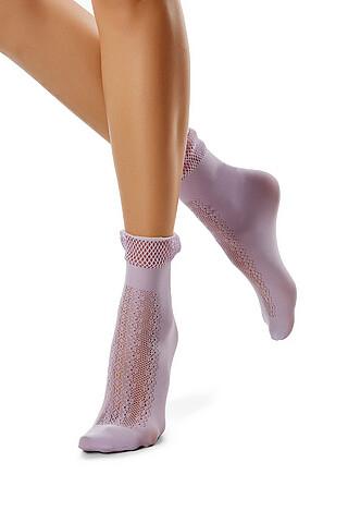 """Ажурные носки """"Воздушная геометрия"""" LE CABARET"""