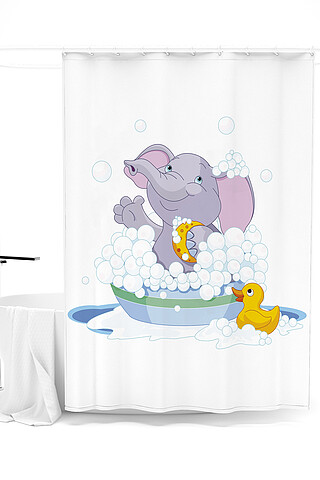 Штора для ванной ART HOME TEXTILE