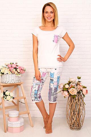 Пижама(Бриджи+футболка) СОФИЯ37