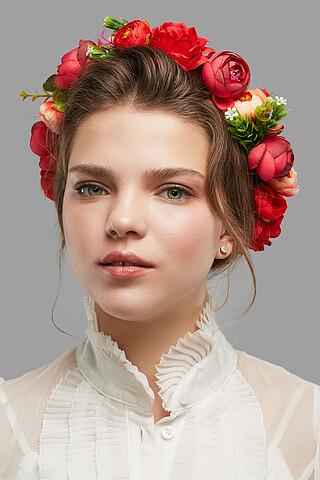 Веночек с розами и пионами Волшебный сад Nothing But Love