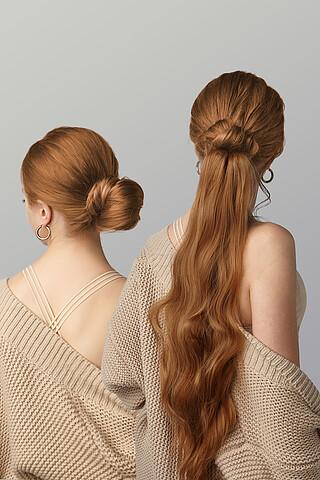 """Накладной хвост шиньон накладные волосы длинный шиньон шиньон с заколкой """"Нимфа"""" Nothing But Love"""