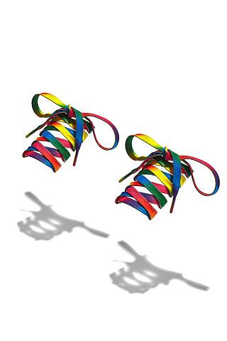 """Шнурки """"Быстрый цвет"""", 125 см Nothing Shop"""