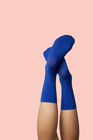 """Носки высокие женские носки цветные носки """"Красочная дружба"""" КРАСНАЯ ЖАРА"""