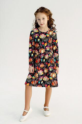 Платье Эля MAX лилии SOVALINA