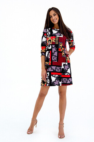 Платье трикотажное RAPOSA