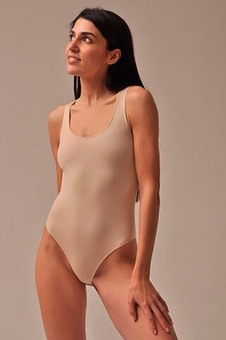MY Боди женское BO283 BODY SPALLA LARGA (1/68) (nudo (телесный) MY