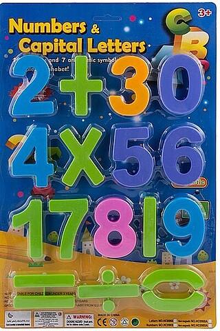 Набор пластиковых цифр BONNA