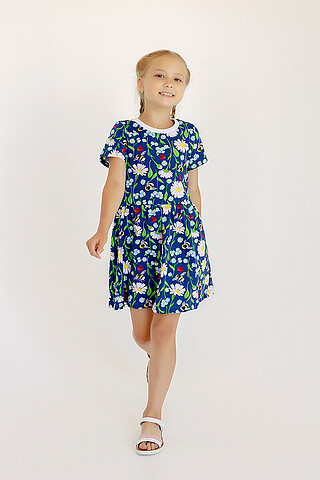 Платье Лето ромашки SOVALINA