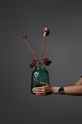 """Ваза """"Цветочный сад"""" MERSADA"""