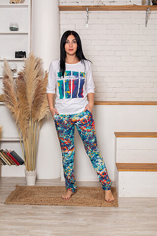 Костюм (футболка+брюки) СОФИЯ37