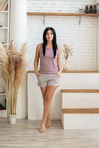 Пижама (топ+шорты) SOFIYA37