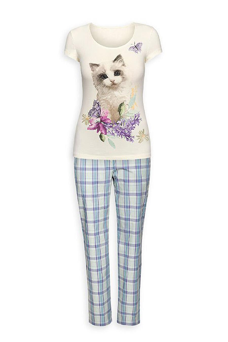 Пижама (Брюки+Футболка) #111437