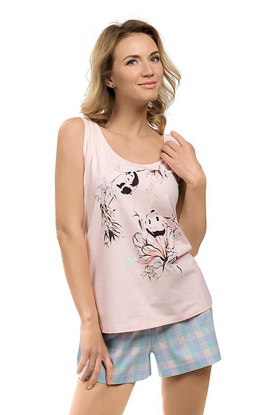 Пижама (Майка+Шорты) PELICAN (111465), купить в Optmoyo.ru