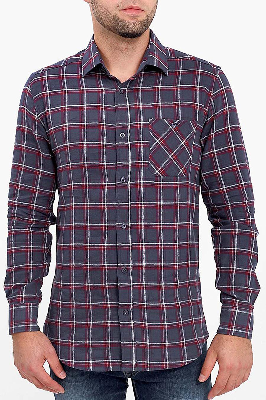 Рубашка для мужчин F5 116262 купить оптом от производителя. Совместная покупка мужской одежды в OptMoyo