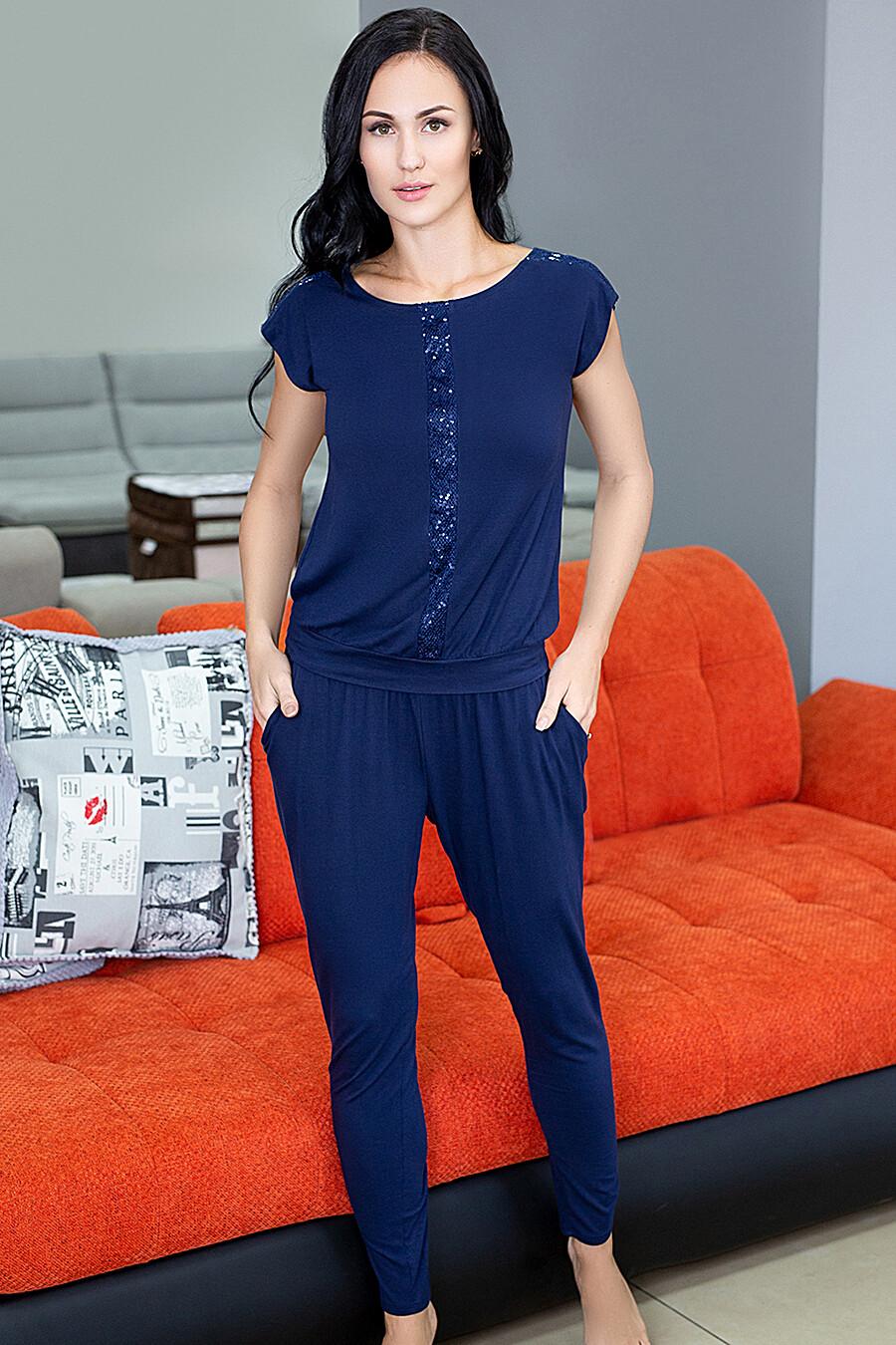 Комплект (Футболка+Брюки) для женщин LEINLE 116757 купить оптом от производителя. Совместная покупка женской одежды в OptMoyo