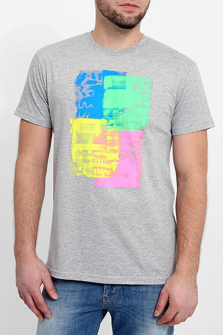 Футболка для мужчин F5 120873 купить оптом от производителя. Совместная покупка мужской одежды в OptMoyo