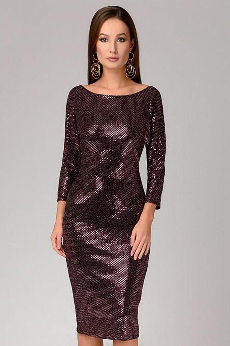Платье для женщин 1001 DRESS 130931 купить оптом от производителя. Совместная покупка женской одежды в OptMoyo