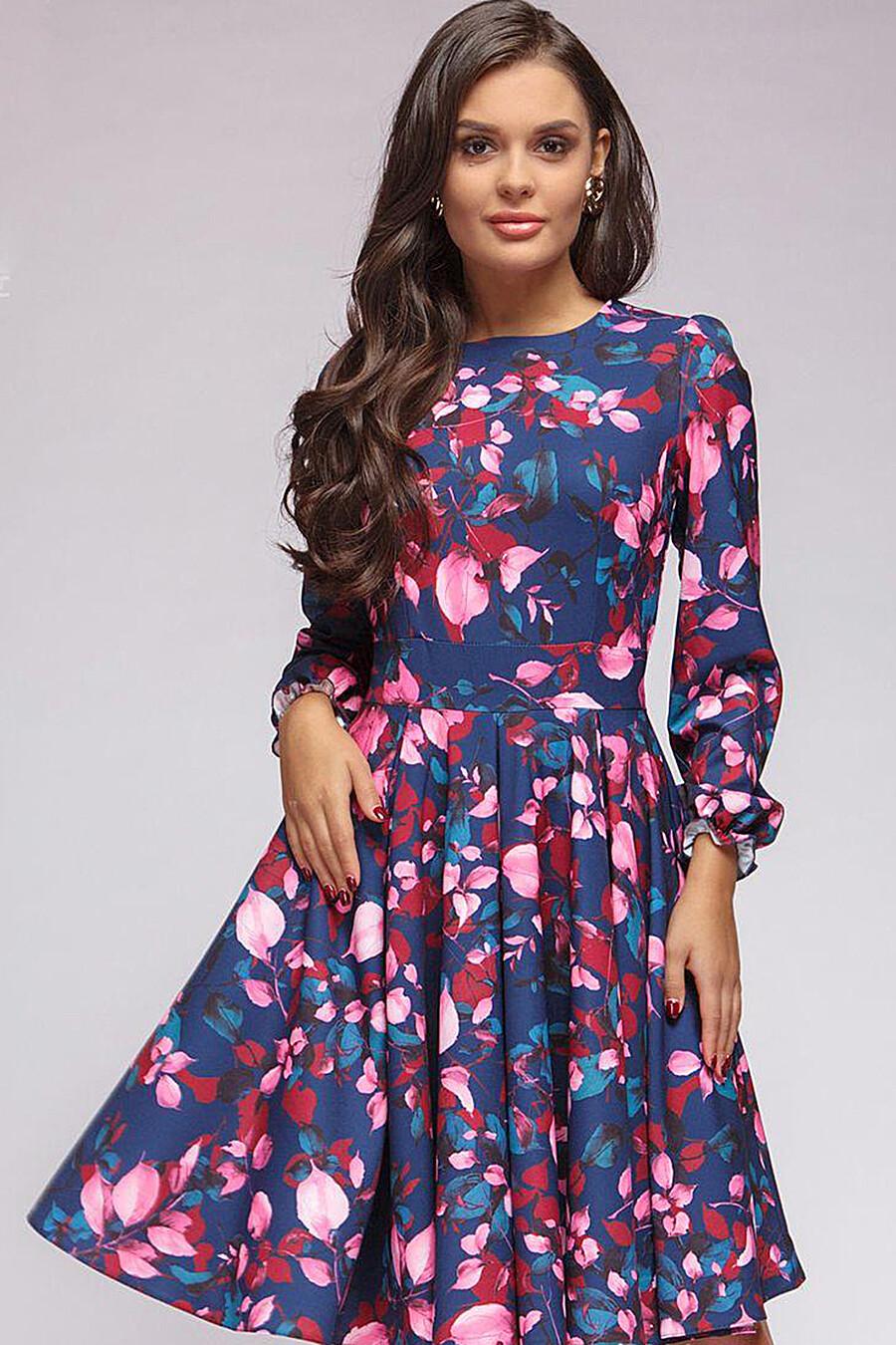 Платье для женщин 1001 DRESS 131022 купить оптом от производителя. Совместная покупка женской одежды в OptMoyo