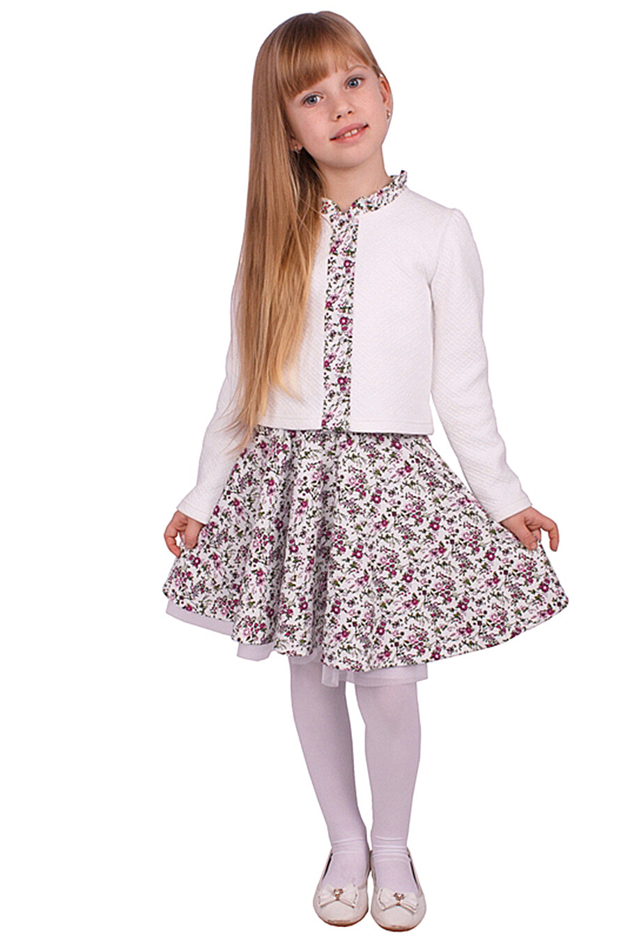 Юбка для девочек Archi 131223 купить оптом от производителя. Совместная покупка детской одежды в OptMoyo