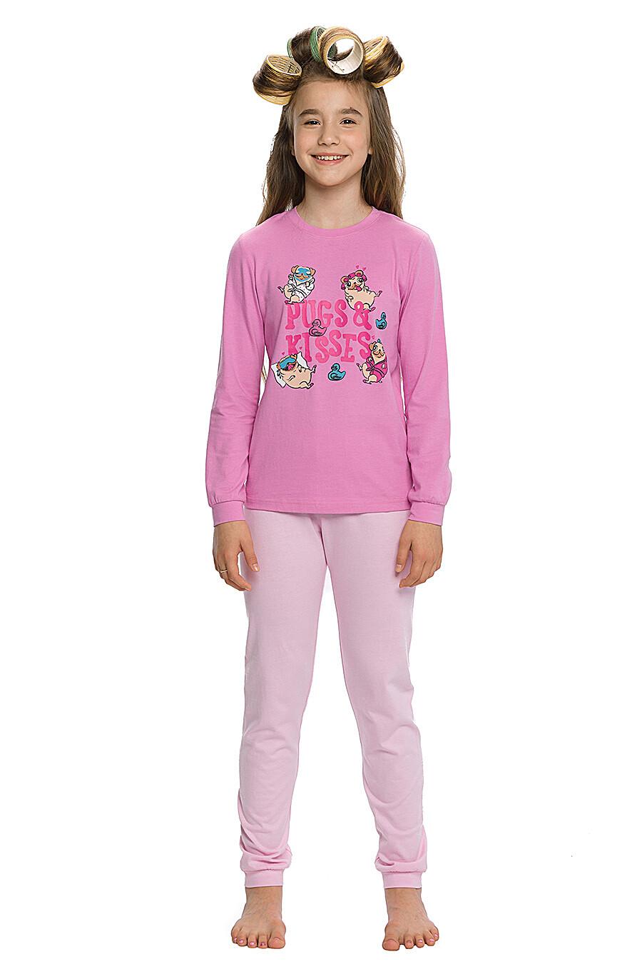 Пижама для девочек PELICAN 146052 купить оптом от производителя. Совместная покупка детской одежды в OptMoyo