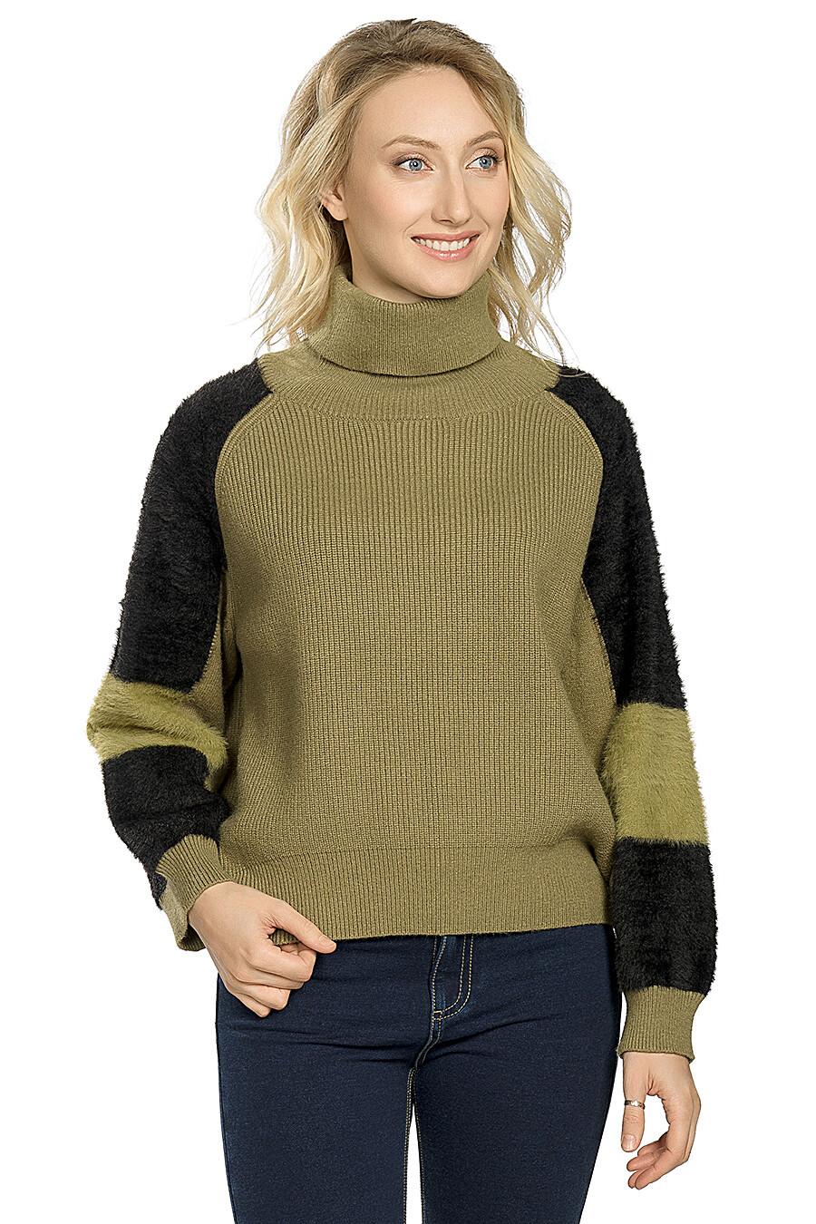 Джемпер для женщин PELICAN 146724 купить оптом от производителя. Совместная покупка женской одежды в OptMoyo