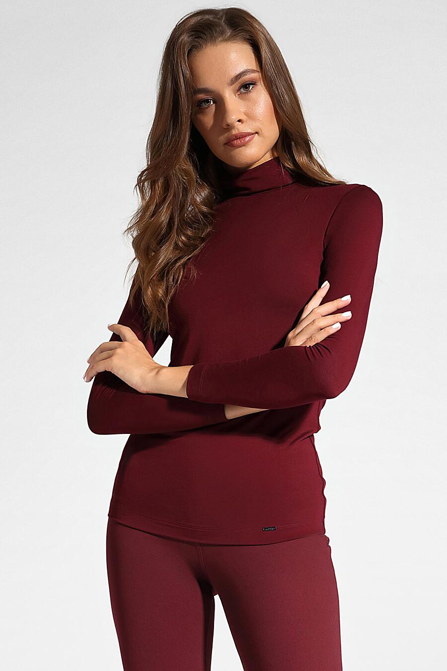 Водолазка для женщин CONTE ELEGANT 148629 купить оптом от производителя. Совместная покупка женской одежды в OptMoyo