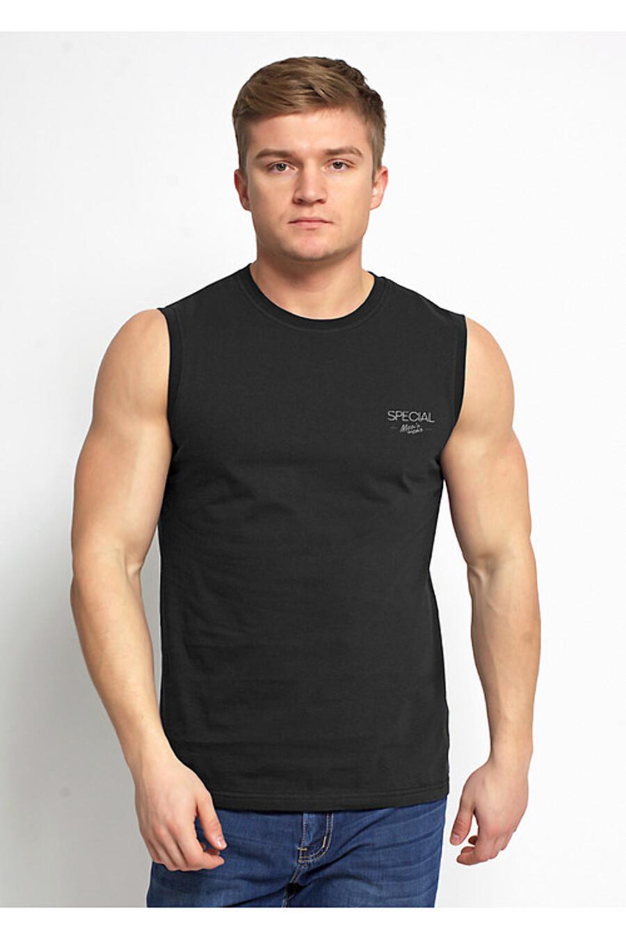 Майка для мужчин CLEVER 151811 купить оптом от производителя. Совместная покупка мужской одежды в OptMoyo