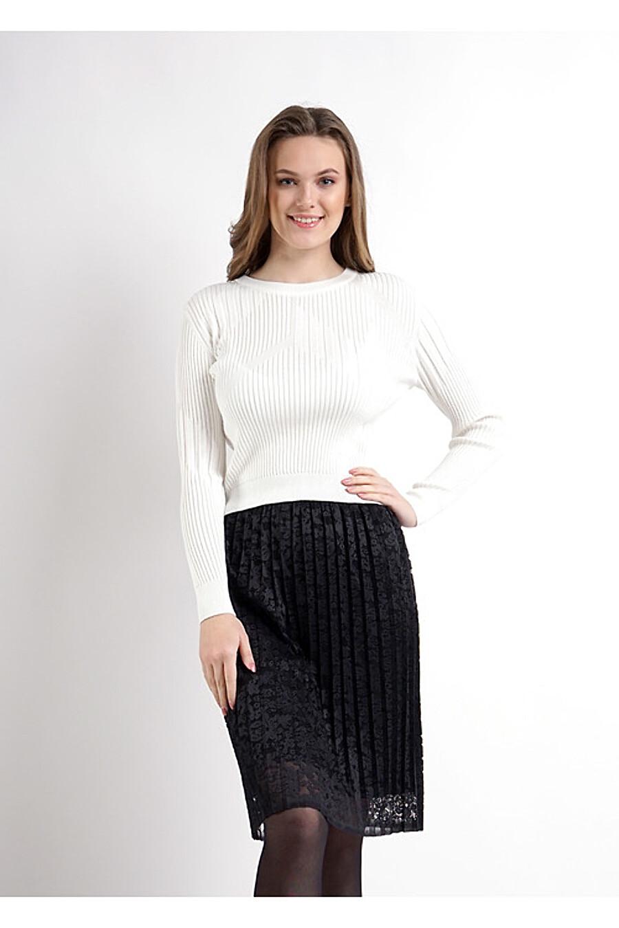 Джемпер для женщин CLEVER 155065 купить оптом от производителя. Совместная покупка женской одежды в OptMoyo