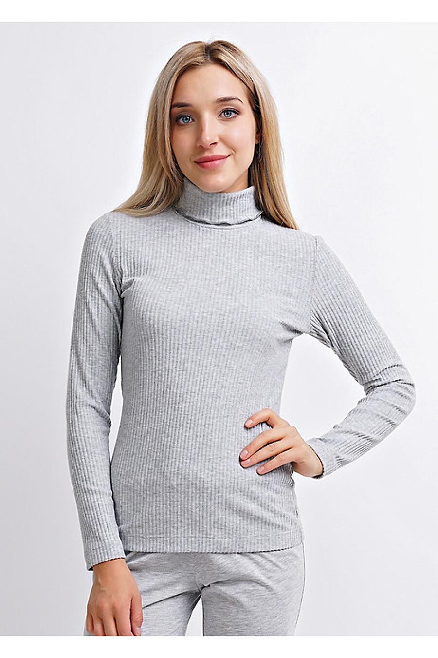 Водолазка для женщин CLEVER 155556 купить оптом от производителя. Совместная покупка женской одежды в OptMoyo