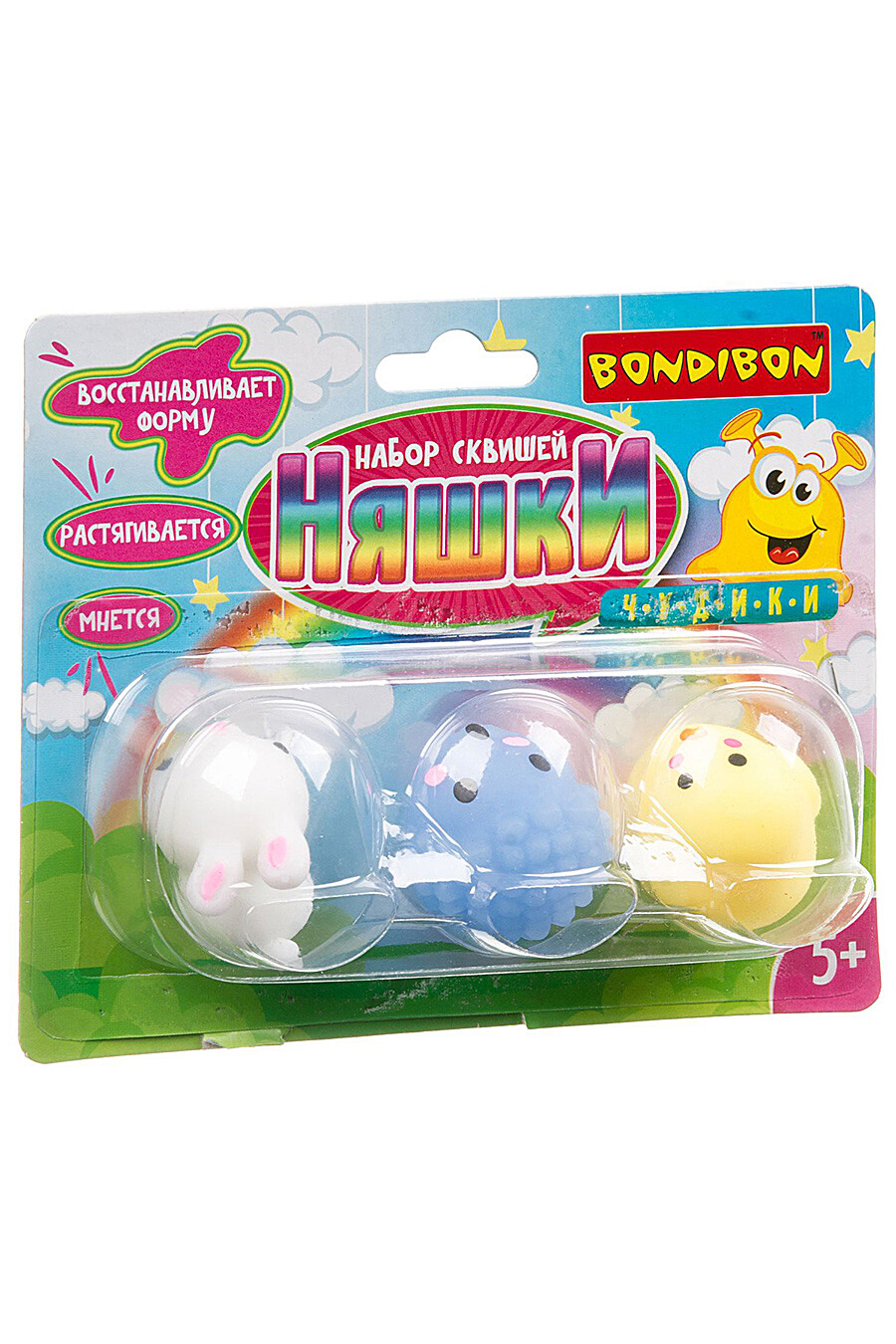 Набор сквишей для детей BONDIBON 156777 купить оптом от производителя. Совместная покупка игрушек в OptMoyo