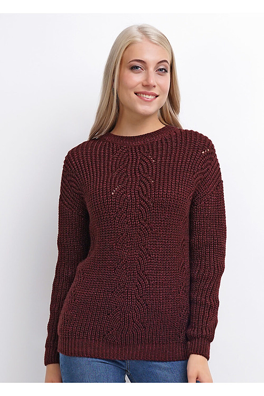 Джемпер для женщин CLEVER 159081 купить оптом от производителя. Совместная покупка женской одежды в OptMoyo