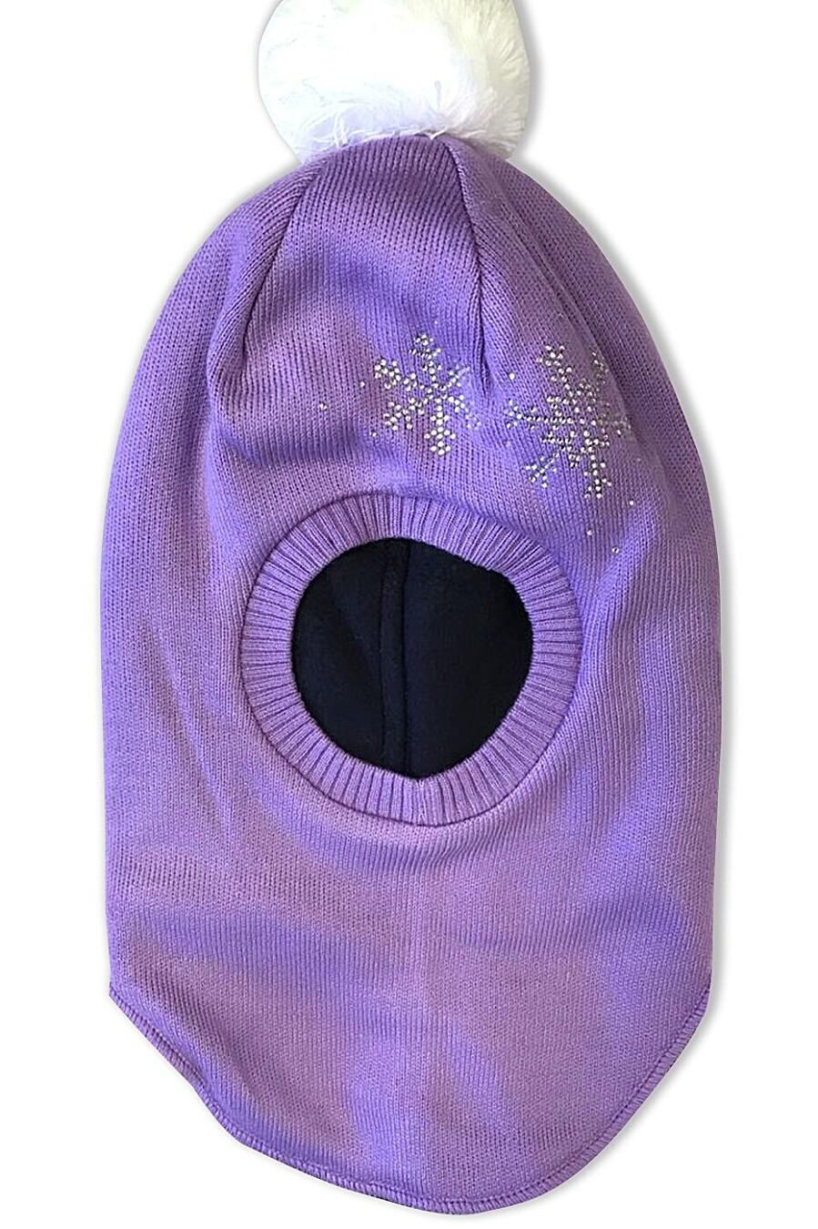 Шапка для девочек CLEVER 162591 купить оптом от производителя. Совместная покупка детской одежды в OptMoyo