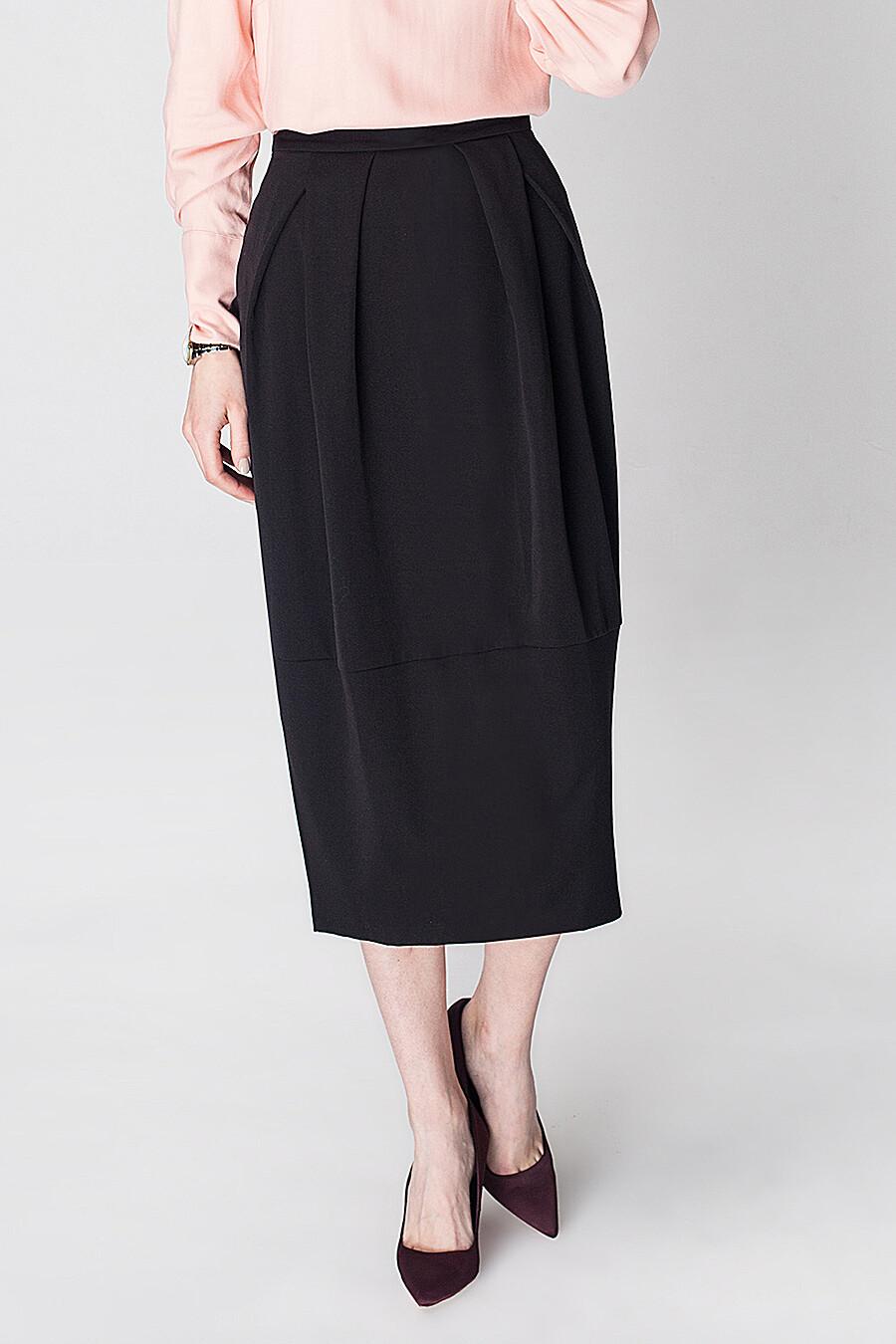 Юбка для женщин VILATTE 165657 купить оптом от производителя. Совместная покупка женской одежды в OptMoyo