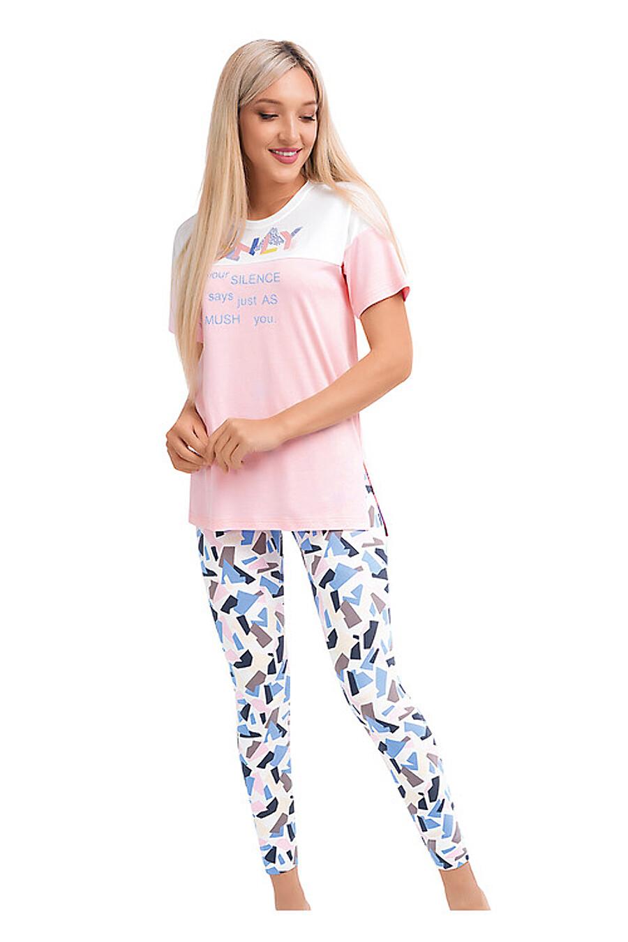 Комплект (футболка+леггинсы) для женщин CLEVER 169233 купить оптом от производителя. Совместная покупка женской одежды в OptMoyo
