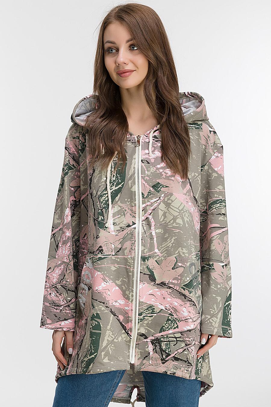 Ветровка для женщин MODALIME 169452 купить оптом от производителя. Совместная покупка женской одежды в OptMoyo
