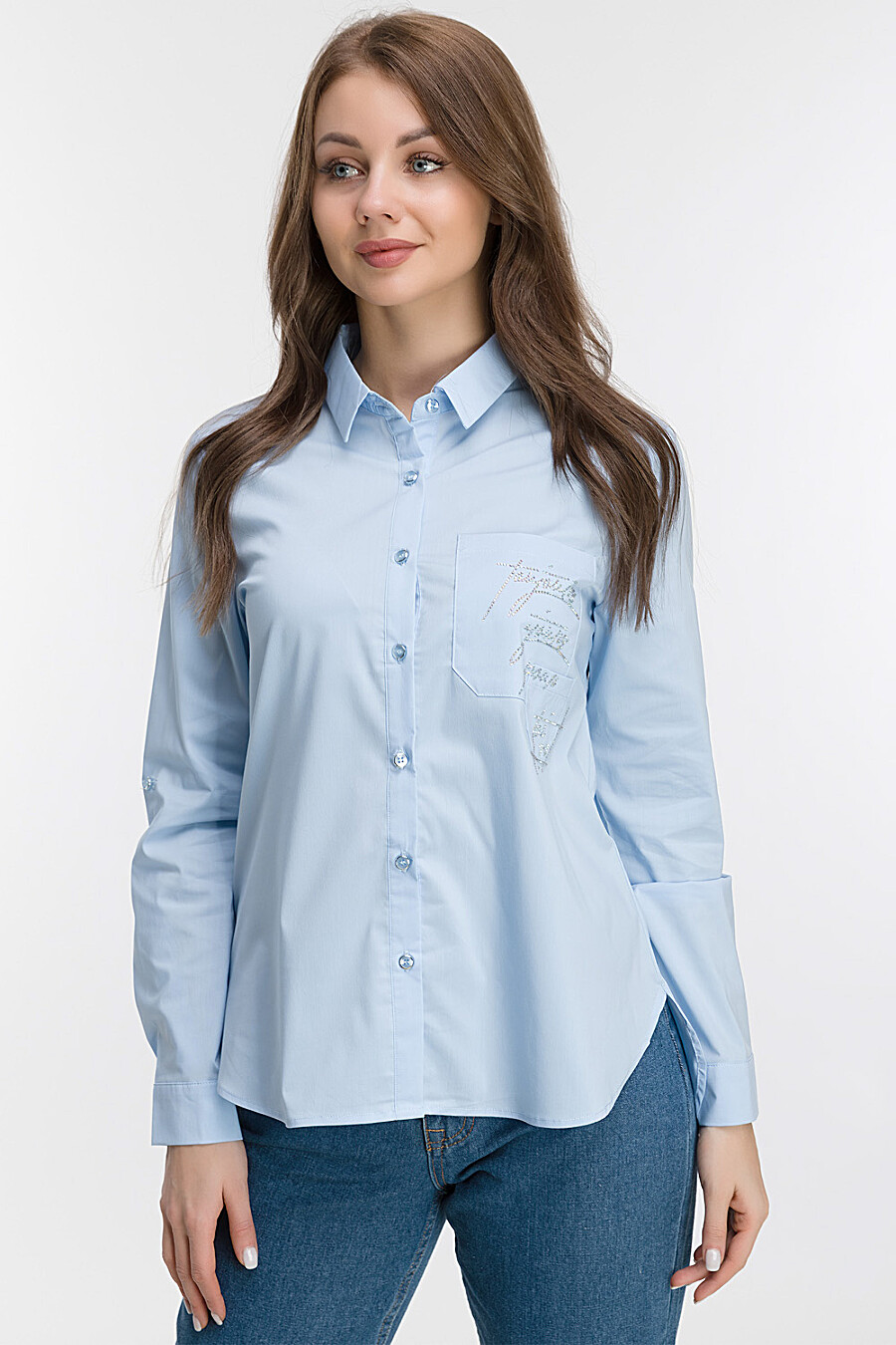 Блуза для женщин MODALIME 169455 купить оптом от производителя. Совместная покупка женской одежды в OptMoyo