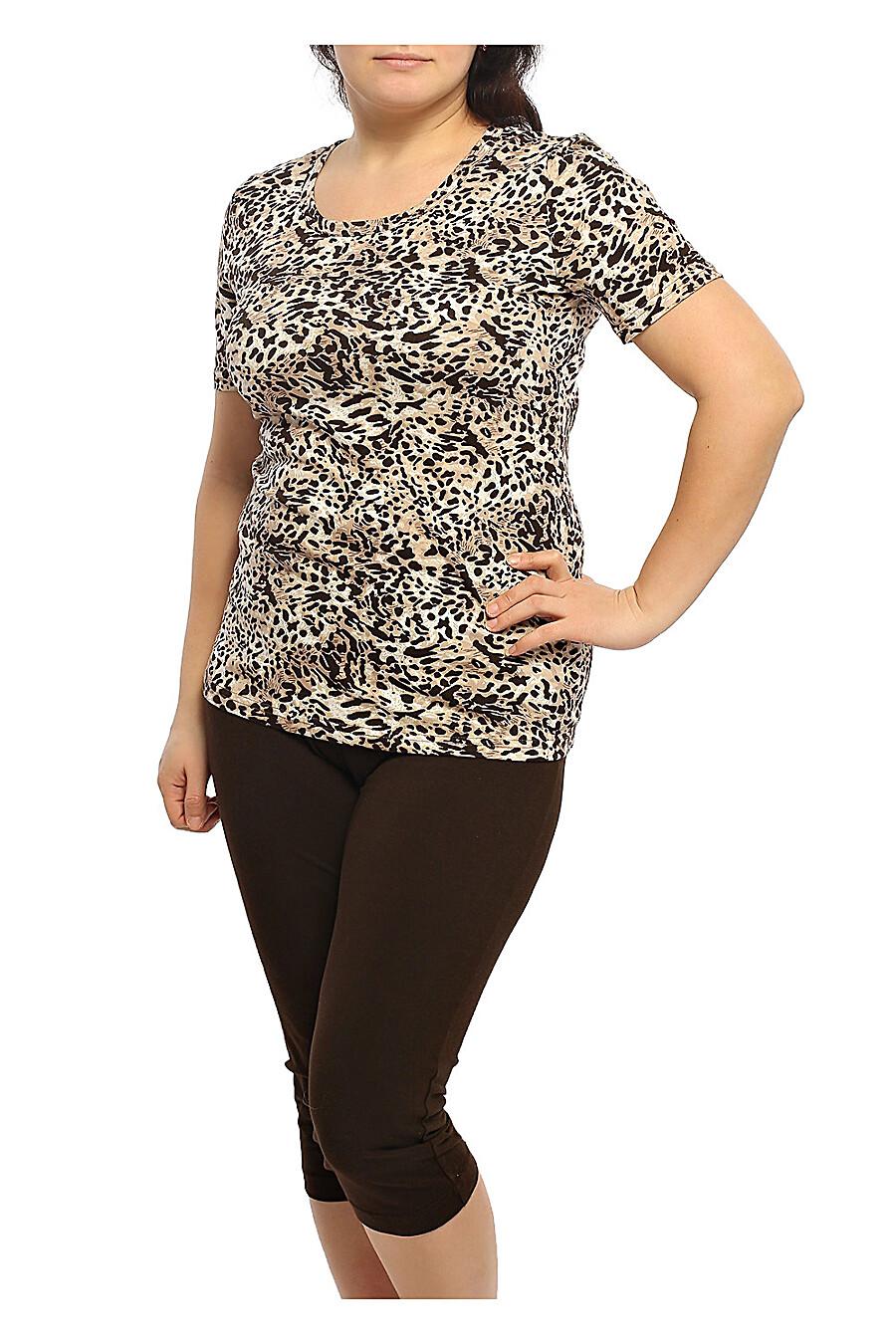 Комплект (футболка+бриджи) для женщин CLEVER 175768 купить оптом от производителя. Совместная покупка женской одежды в OptMoyo