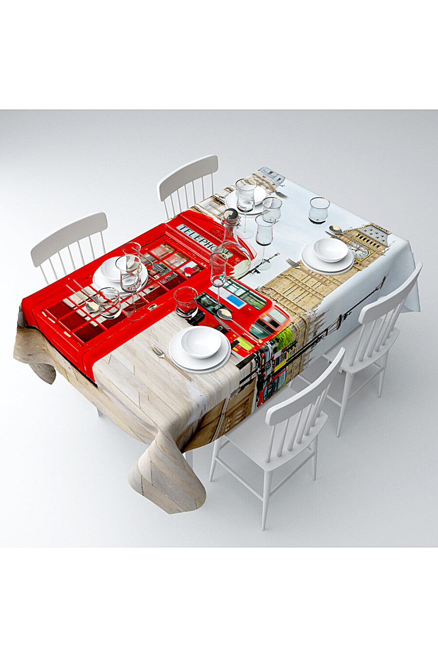 Скатерть с пропиткой для дома ART HOME TEXTILE 180087 купить оптом от производителя. Совместная покупка товаров для дома в OptMoyo